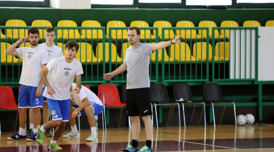 Rocchigiani in allenamento